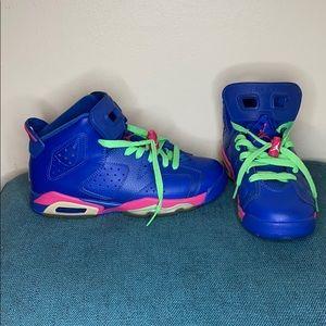 Anaconda Royal Blue Nike Air Jordans